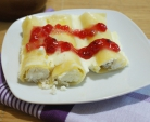 Cannelloni med cottage cheese