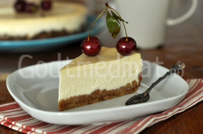 New York cheesecake, ostekake